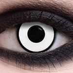 White coloured contact lenses (Halloween Crazy lenses)