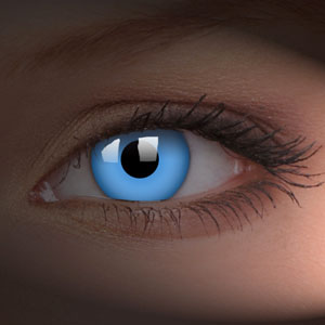 Blue Super Nova Contact Lenses Halloween Crazy Lenses