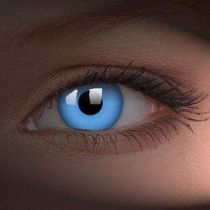 blue super nova contact lenses (halloween crazy lenses