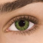 Gemstone Green Coloured Contact Lenses