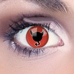 Devil lenses halloween