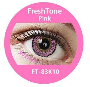 Freshtone Premium Pink Contact Lenses  Good Quality Colored