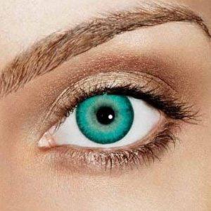 aqua coloured contact lenses (blends) | good quality