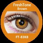 Freshtone eye to eye brown