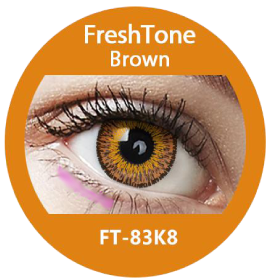 Freshtone eye to eye brown