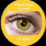 freshtone eye to eye caramel yearly use