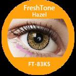 Freshtone eye to eye hazel