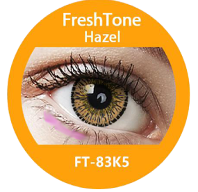 Freshtone eye to eye hazel